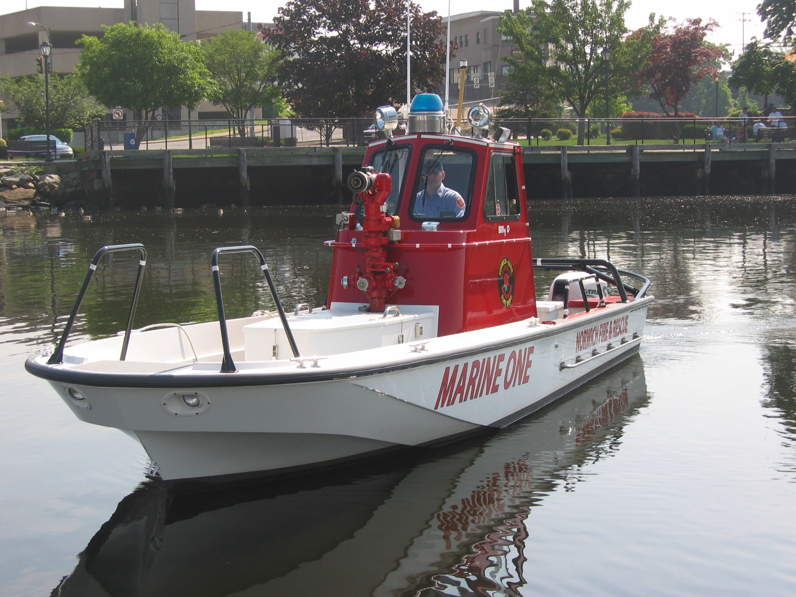 Marine 1 Fire/Rescue Boat